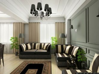 Finished Apartement